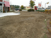 TGI Friday's N. Hampton.  During Sod Installation